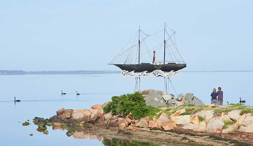 Metung Luxury Accommodation - The Moorings at Metung, on the